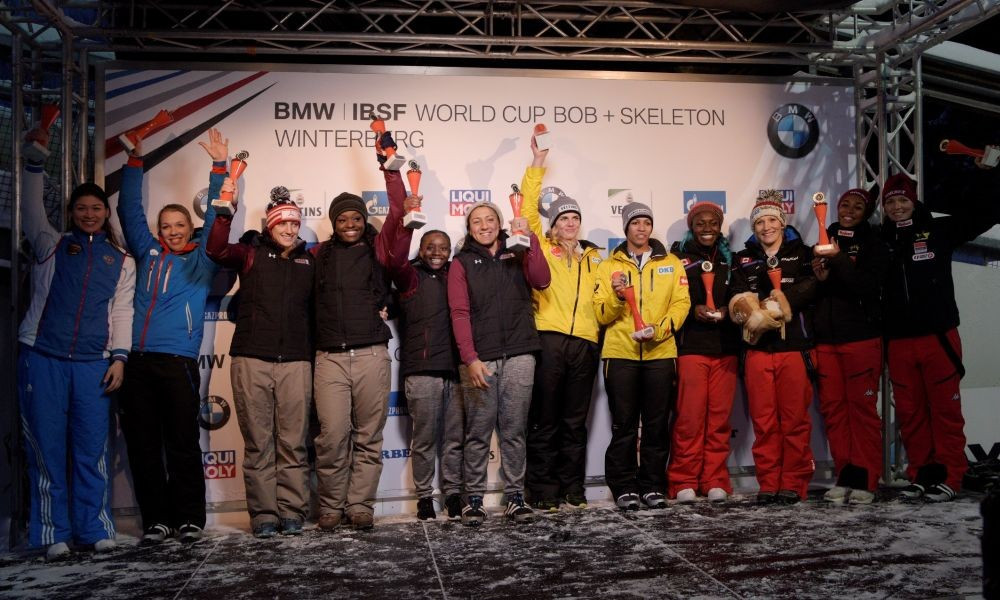 Jamanka claims first continental title at IBSF European Championships and World Cup