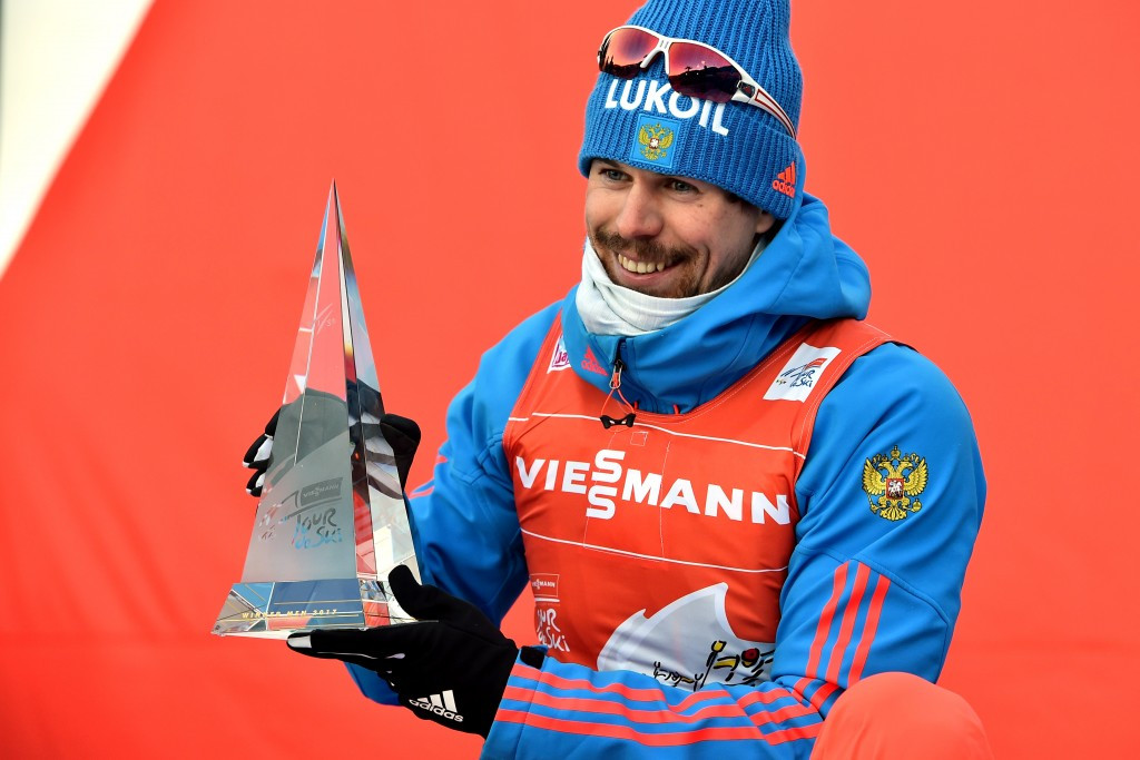 Sergey Ustiugov won the Tour de Ski title last Sunday ©Getty Images