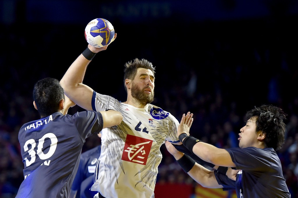 Hosts and defending champions France claimed a second win in as many games at the IHF World Championships after overcoming Japan at the Exponantes - Hall XXL in Nantes ©Getty Images