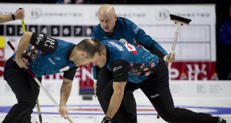 The North American team have taken a 10-8 lead following day two of the 2017 Continental Cup of Curling ©CCOC