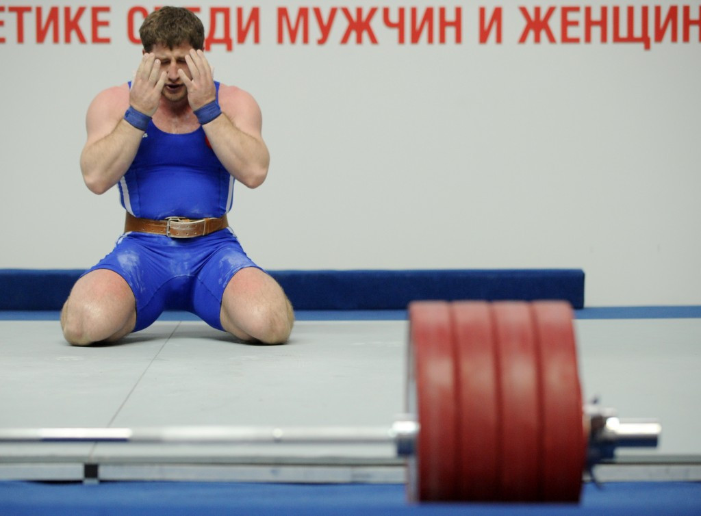 Khadzhimurat Akkaev has been provisionally suspended by the IWF ©Getty Images