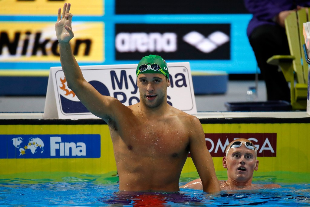 Olympic gold medal-winning swimmer Le Clos names new coach