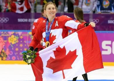 IOC member Wickenheiser retires from ice hockey