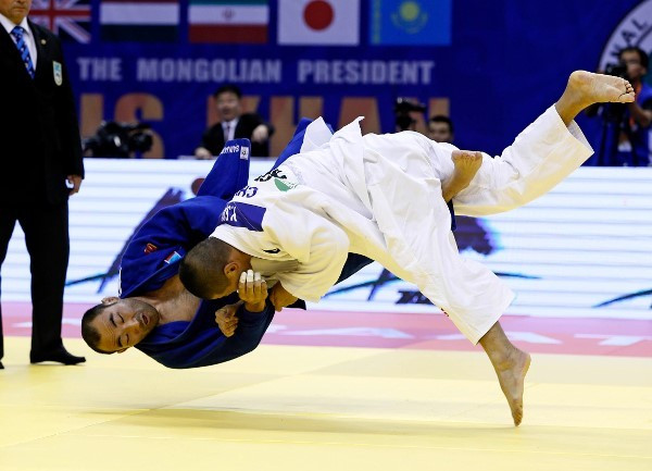 Sai stuns home favourite Sainjargal on second day of IJF Grand Prix in Mongolia