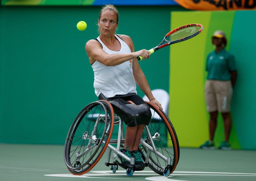 Griffioen, Peifer and Alcott retain titles at Sydney Wheelchair Tennis Open