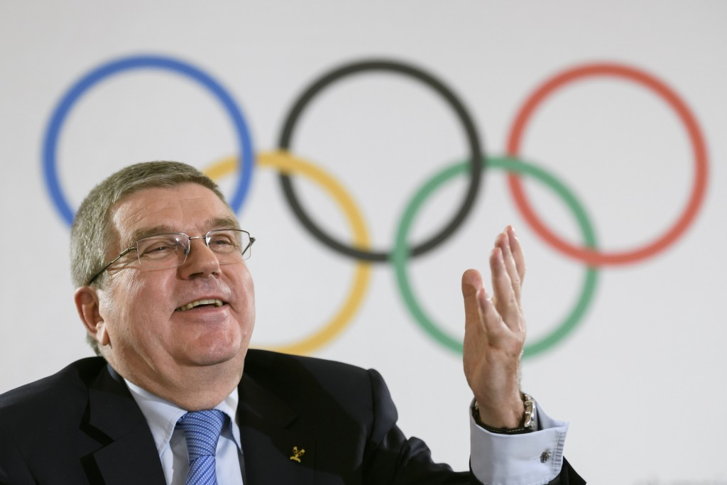 Thomas Bach, the IOC President, has been fairly non-committal when asked about the 2024/2028 question so far ©Getty Images