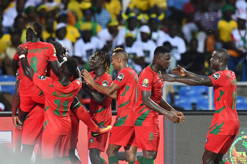 Guinea-Bissau claim surprise draw against hosts Gabon on opening day of 2017 Africa Cup of Nations