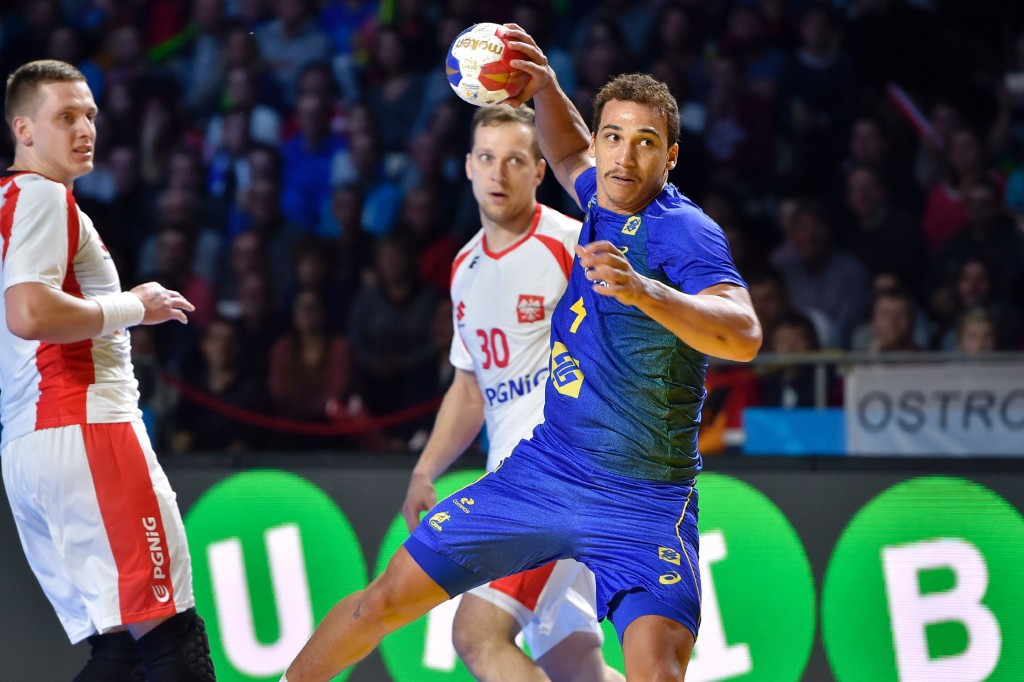 Brazil bounced back from their opening day defeat against hosts France to upset 2015 bronze medallists Poland at the IHF World Championships ©Getty Images