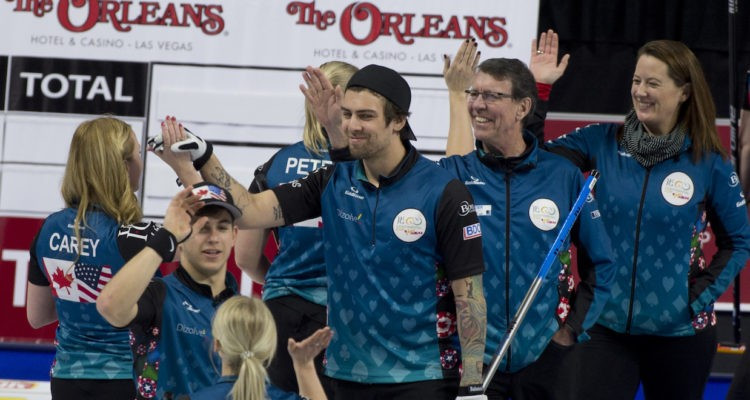 North America edge closer to fifth consecutive Continental Cup of Curling title