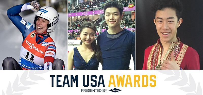 Teenage skating star Chen wins male prize at Team USA Best of December Awards