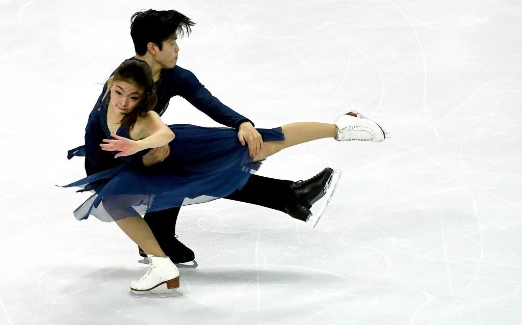 Maia Shibutani and Alex Shibutani claimed a first medal at ISU Grand Prix Finals level ©Getty Images