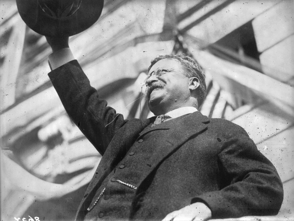 Theodore Roosevelt did not open the 1904 Olympic Games in St Louis ©Getty Images