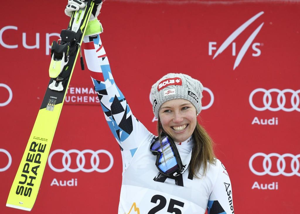 Scheyer claims first World Cup victory in downhill at Altenmarkt-Zauchensee