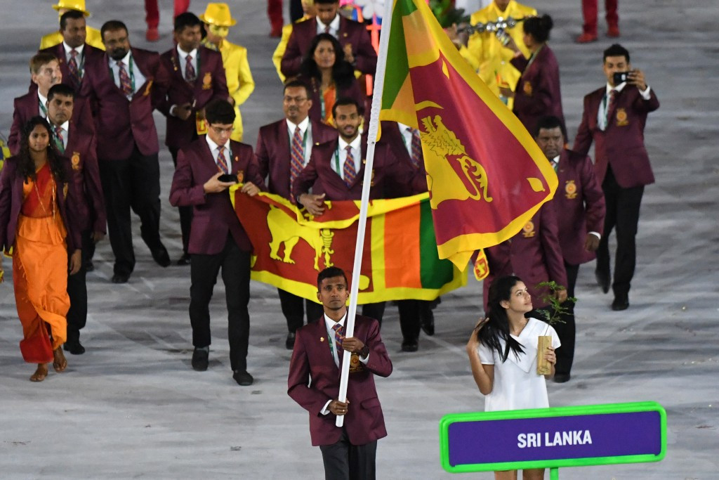 National Olympic Committee of Sri Lanka pay tribute after former