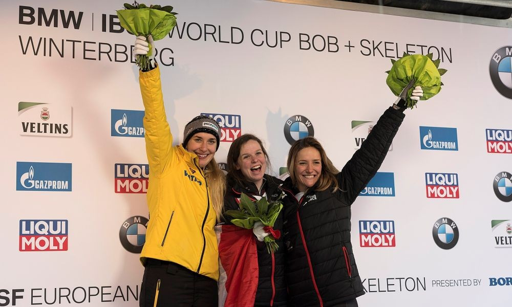 Lölling wins maiden continental crown at IBSF European Championships