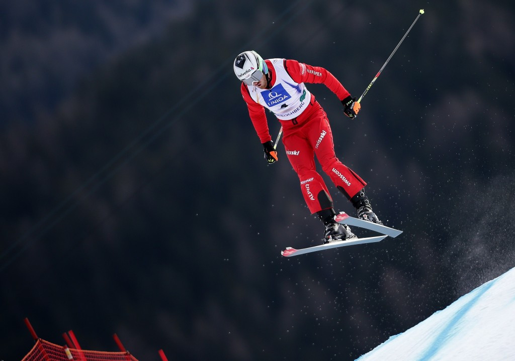 Alex Fiva claimed his first ski cross world title today in Sweden ©Getty Images