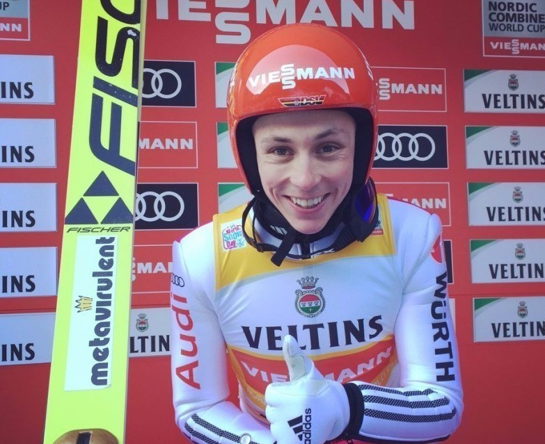 Frenzel dominates to claim sixth FIS Nordic Combined World Cup win of season