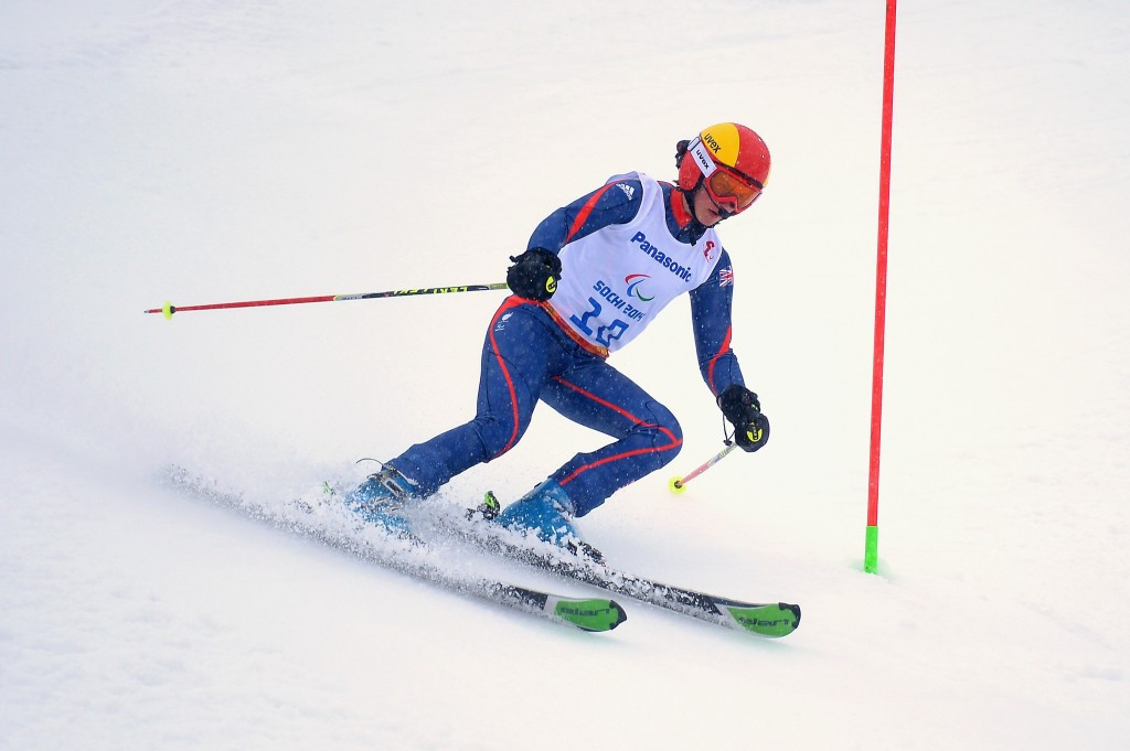 Knight takes super combined gold at IPC Alpine Skiing World Cup