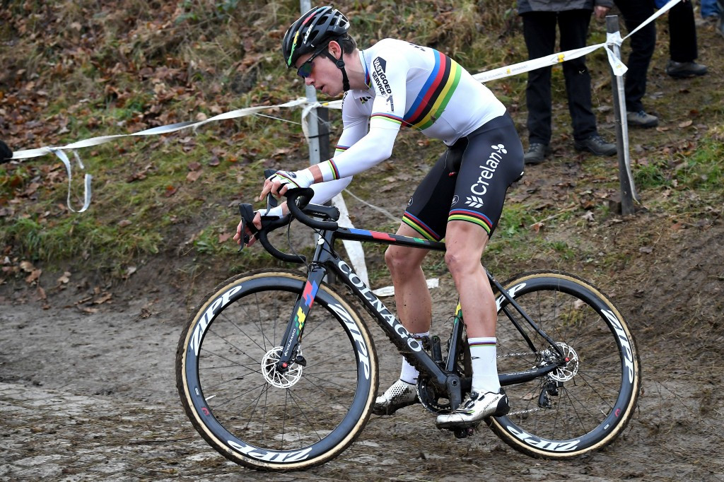 Van Aert claims overall Cyclo-Cross World Cup title in Fiuggi