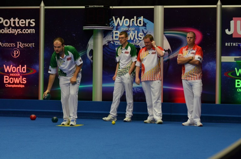 Top pairs seeds suffer elimination from World Indoor Bowls Championships