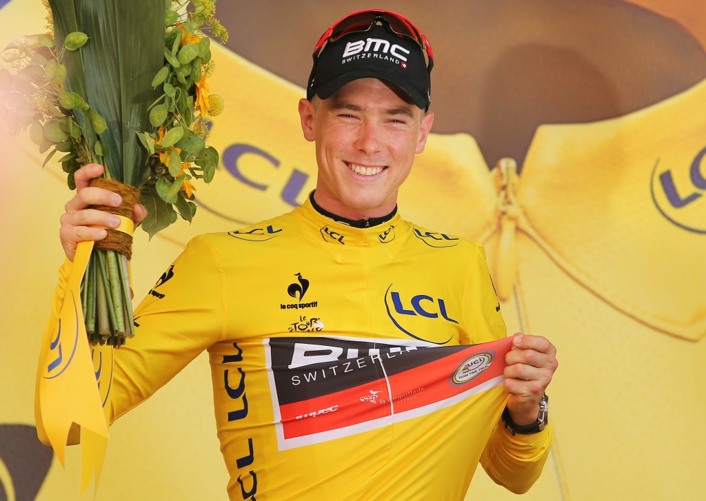 Australian Dennis claims stage one of 2015 Tour de France with record-breaking time trial win