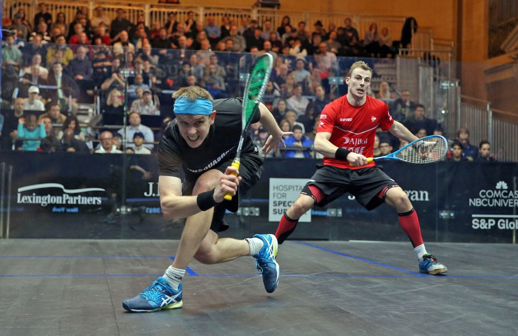 Willstrop ends 19-match squash losing streak against rival Matthew in New York