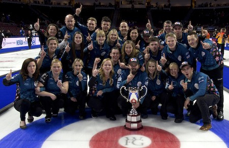 North America retained their Continental Cup of Curling title in Las Vegas ©CCOC