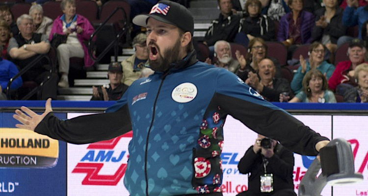 Reid Carruthers clinched the title for the North American team ©CCOC