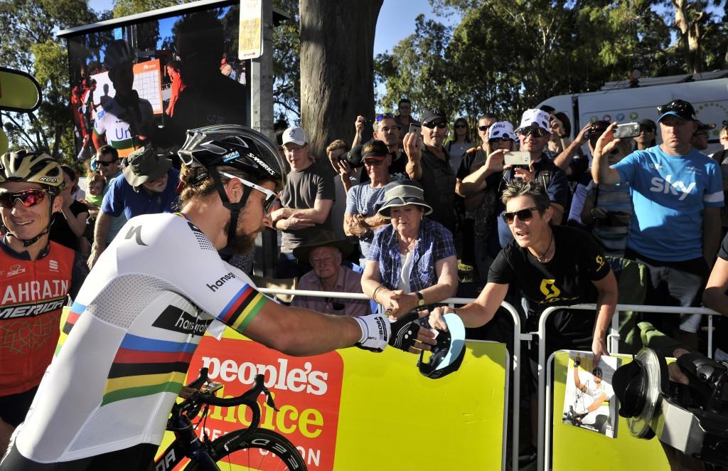 World champion Sagan among Tour Down Under starters