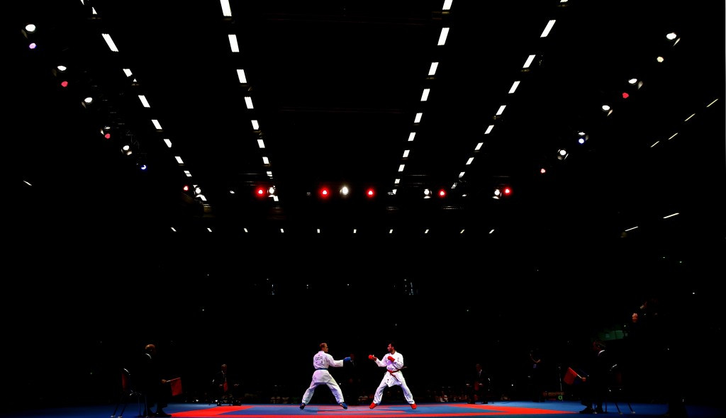 """A decision on the host city of the 2018 Karate World Championships will """"hopefully be made in the the coming weeks"""" ©Getty Images"""