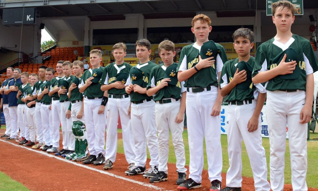 Australia won the first edition of the event ©WBSC