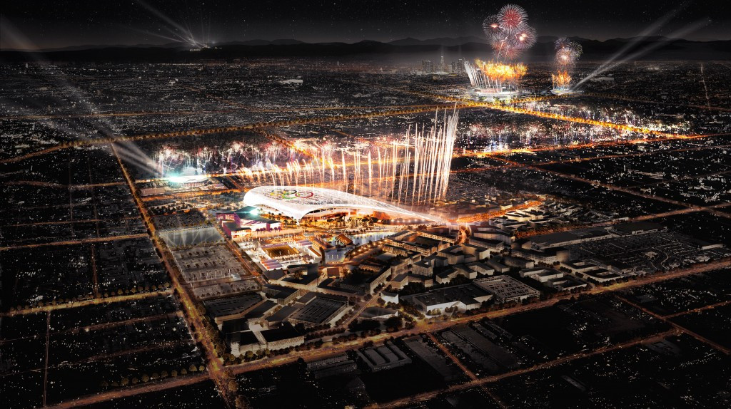 Los Angeles 2024 propose holding Olympic ceremonies across two stadiums