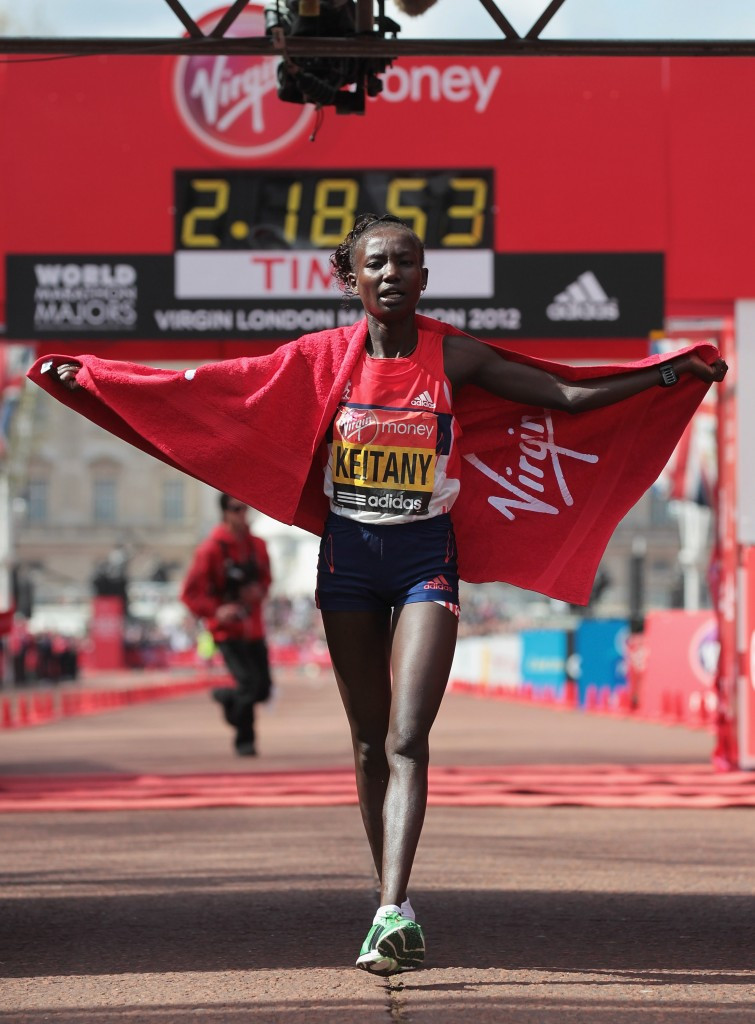 Kenya's Mary Keitany will aim to win her third London Marathon title in April following victories in 2011 and 2012 ©Getty Images