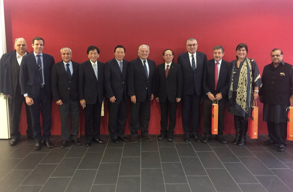 The Chinese Olympic Committee met with members of ASOIF yesterday in Lausanne ©ASOIF