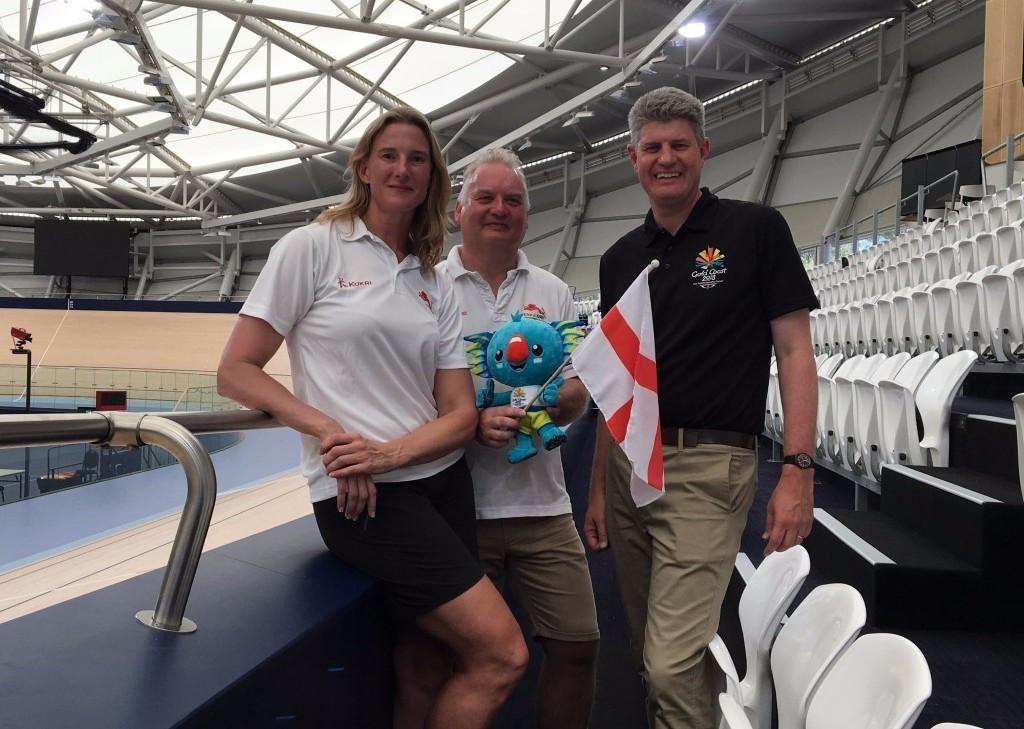 Team England visit Gold Coast 2018 preparation camp facilities in Brisbane