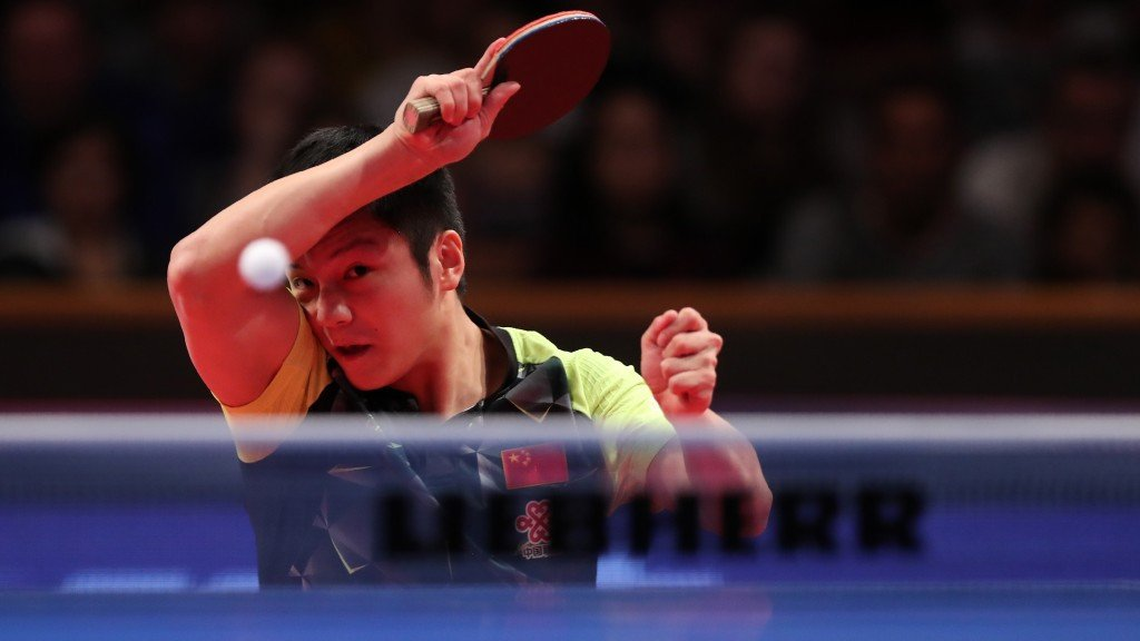 China's Fan Zhendong won the World Cup for the first time in 2016 ©ITTF