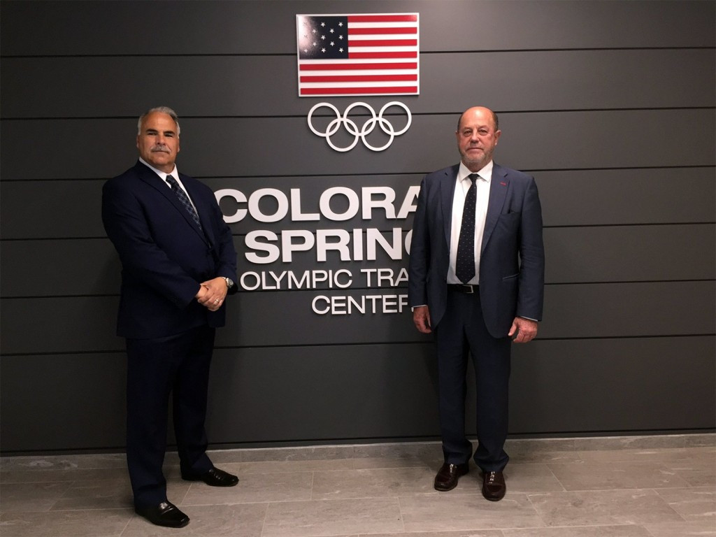 WKF President Espinós meets with USOC representatives to discuss cooperation