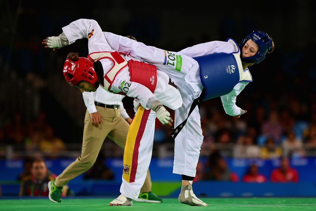 The taekwondo tournament at Rio 2016 was an obvious highlight ©Getty Images