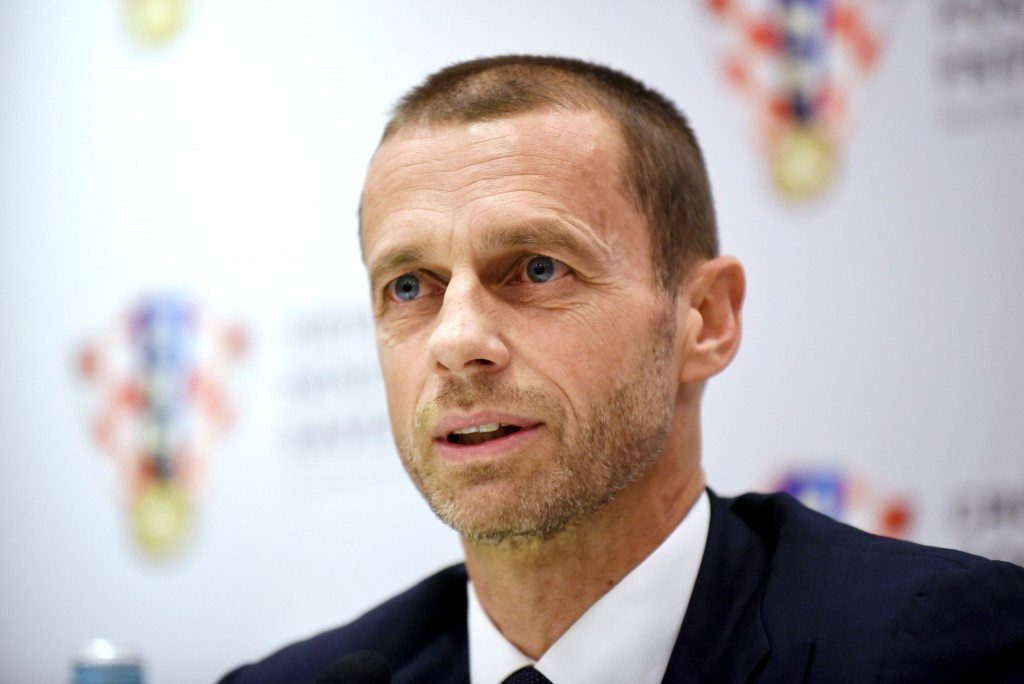 "UEFA President Aleksander Čeferin claims there is ""no rational or legal reason"" Russia should be stripped of the 2018 World Cup ©Getty Images"