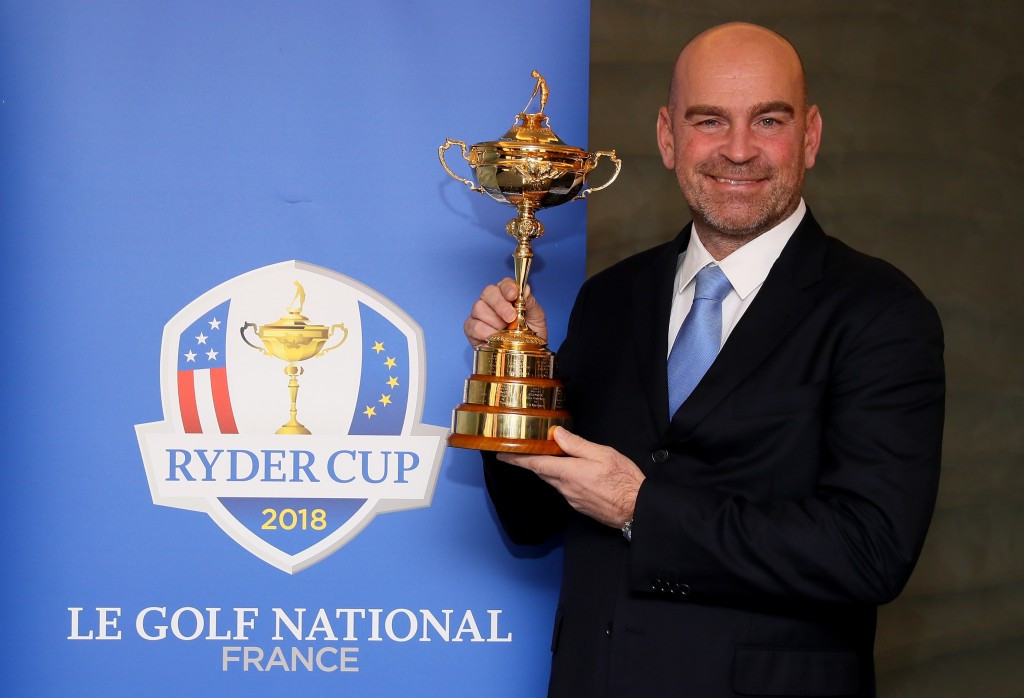 Europe's 2018 Ryder Cup captain Thomas Bjorn will be able to select four wildcards for the tournament ©Getty Images