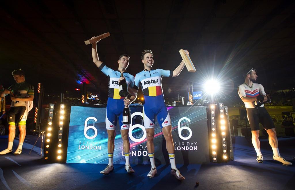 Belgian duo seek to maintain Six Day Series advantage in Berlin