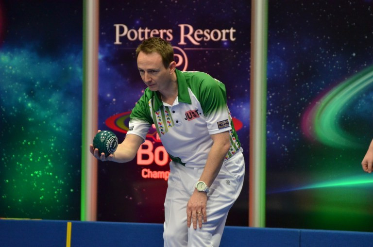 Qualifier Rippey claims shock World Indoor Bowls Championships win