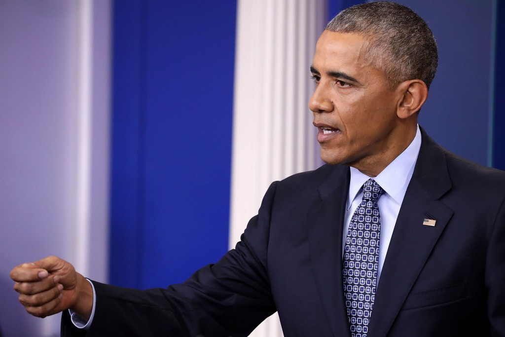 Obama praises Biles and Phelps in final press conference