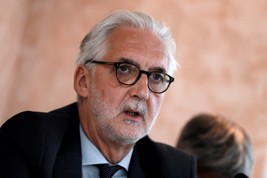 Brian Cookson has claimed David Lappartient should wait four years before launching a bid for the UCI Presidency ©Getty Images