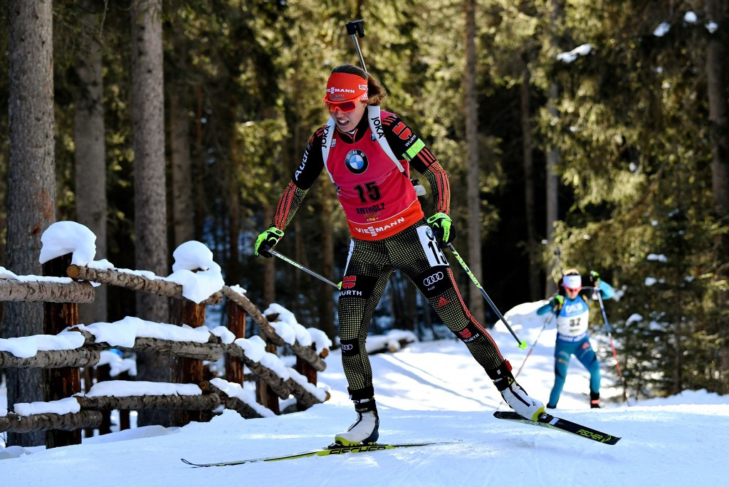Dahlmeier claims individual victory to regain overall lead in IBU World Cup