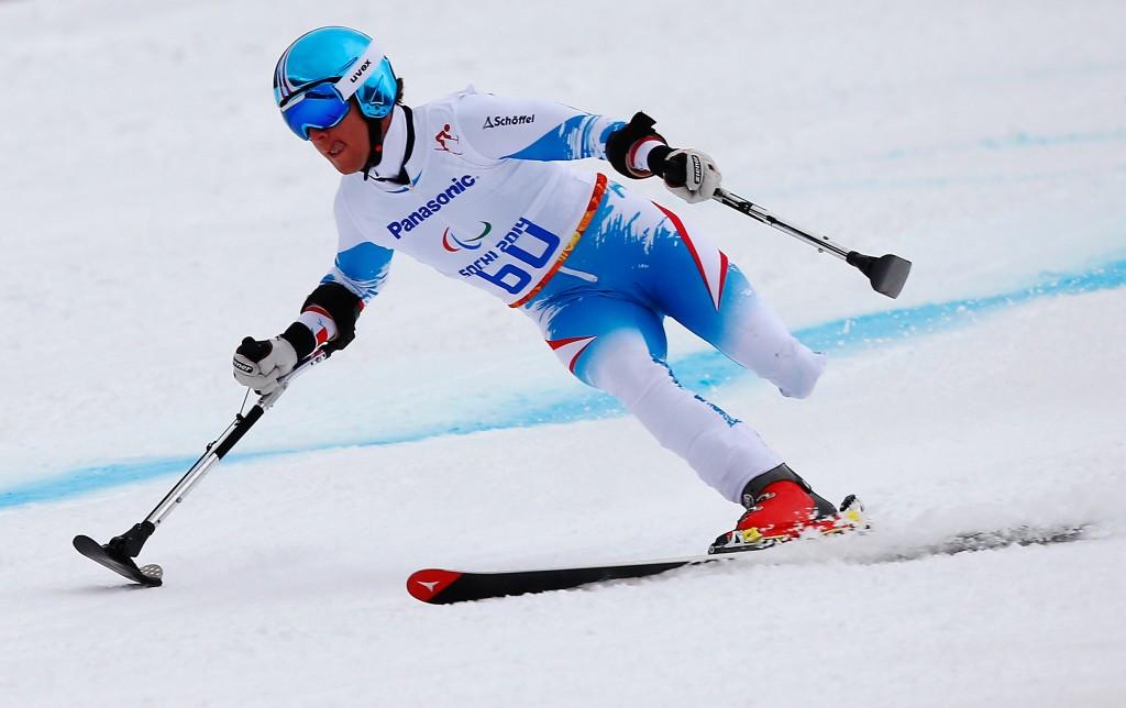 Grochar slaloms to Austrian IPC Alpine skiing World Cup win