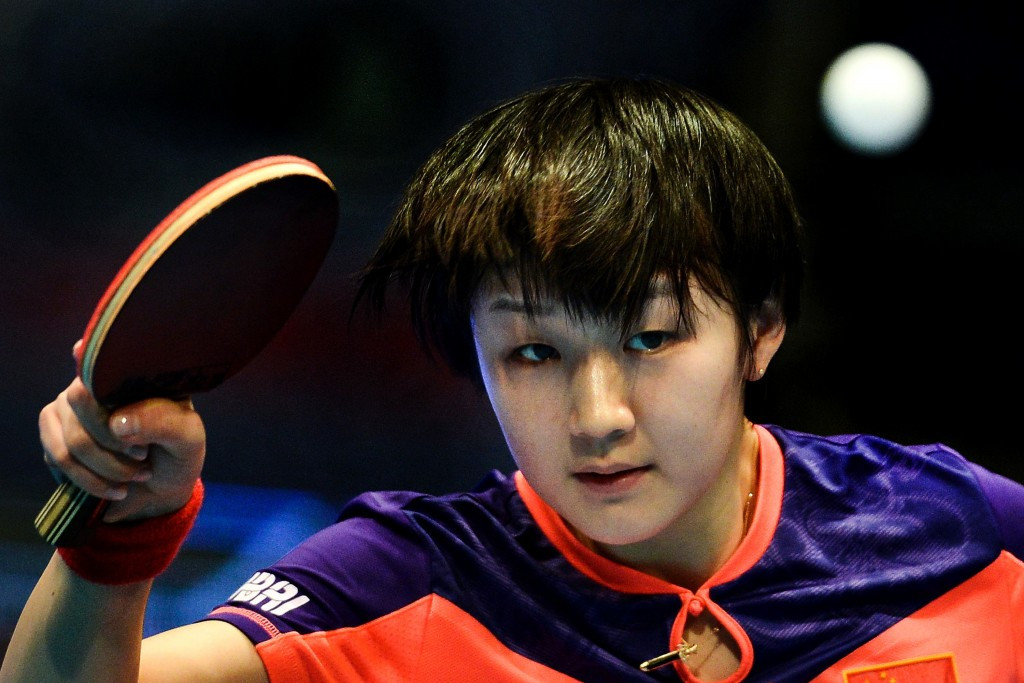 China on top as singles knock-out rounds begin at ITTF Hungarian Open