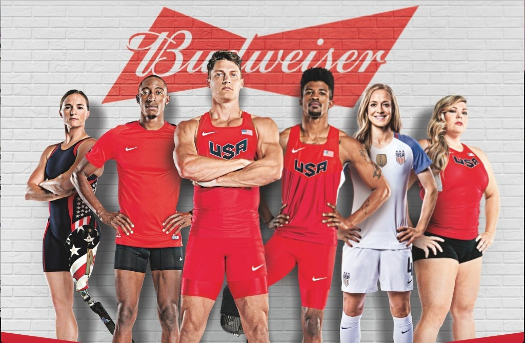 Budweiser had backed the United States Olympic team since Los Angeles 1984, including at Rio 2016, but have now ended their sponsorship deal ©USOC