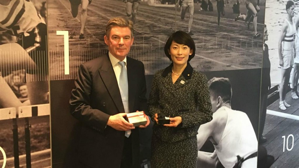 BOA chairman hosts Japanese Olympics Minister to discuss Tokyo 2020