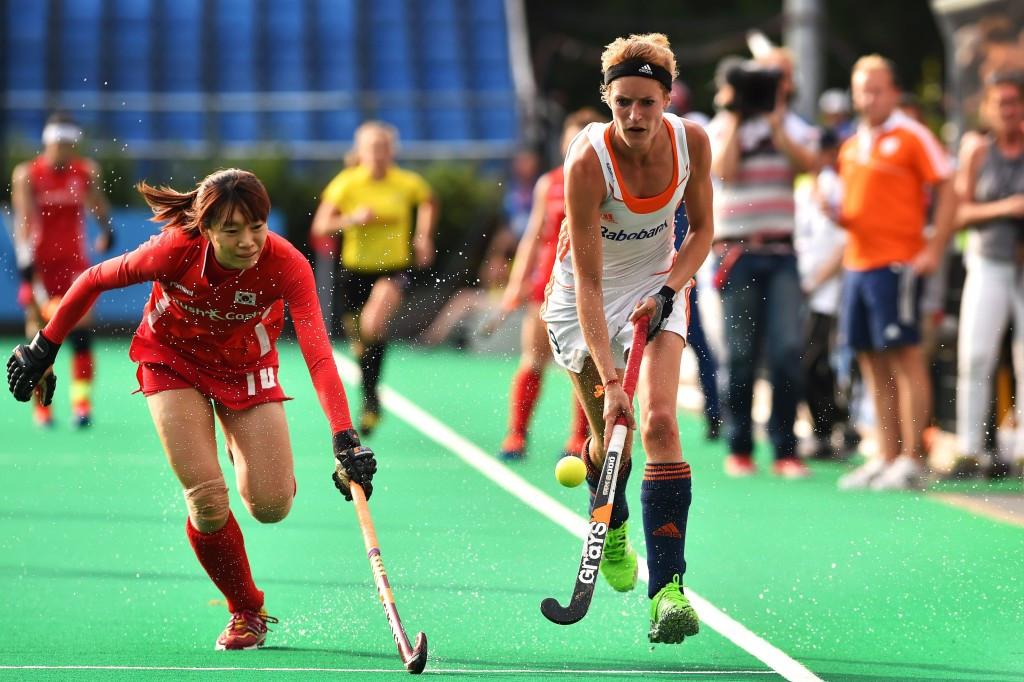 Netherlands battle to final win over South Korea at World Hockey League semi-final